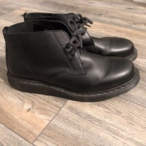 Doc Marten Black Manton Boots